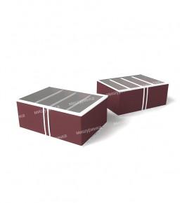 Короб для обуви высокий 48х34х20 см. 1633
