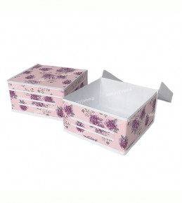 Ящик для белья малый, жесткий. 131-1