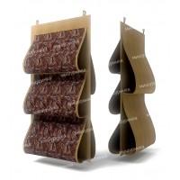 Органайзер для сумок, двусторонний, 5 карманов, 40х70см. 1209