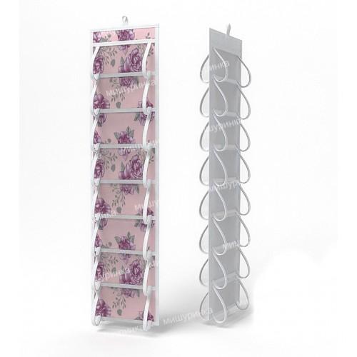 Органайзер для колготок и мелочей, двусторонний, 16 карманов. 110