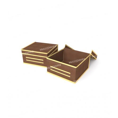 Коробка для косметики малая жесткая. 1531-4