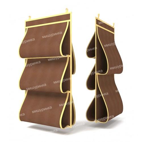 Органайзер для сумок, двусторонний, 5 карманов, 40х70см. 1509