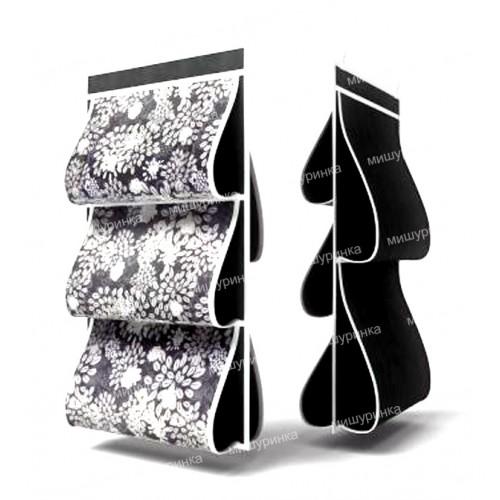 Органайзер для сумок, двусторонний, 5 карманов, 40х70см. 809