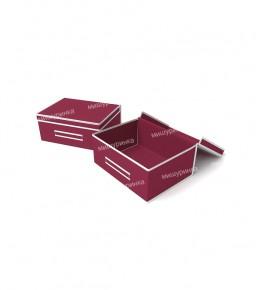 Коробка для белья малая, жесткая. 1631-1