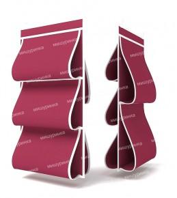 Органайзер для сумок, двусторонний, 5 карманов, 40х70см. 1609