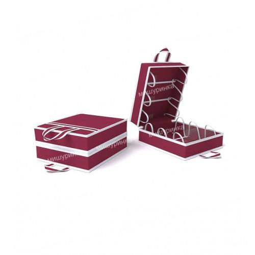 Переносной кофр для обуви на 6 пар. 1613-1