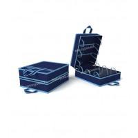 Чемоданчик для хранения обуви на 6 пар, 35х40х20 см. 1713