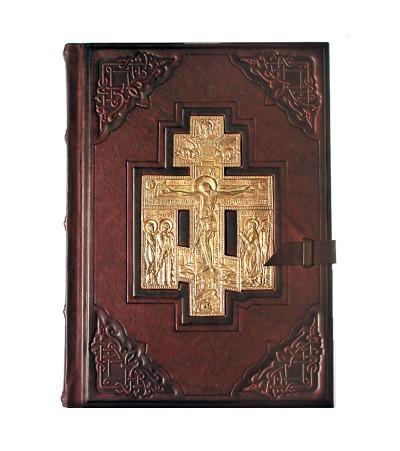 Библия большая с литьем
